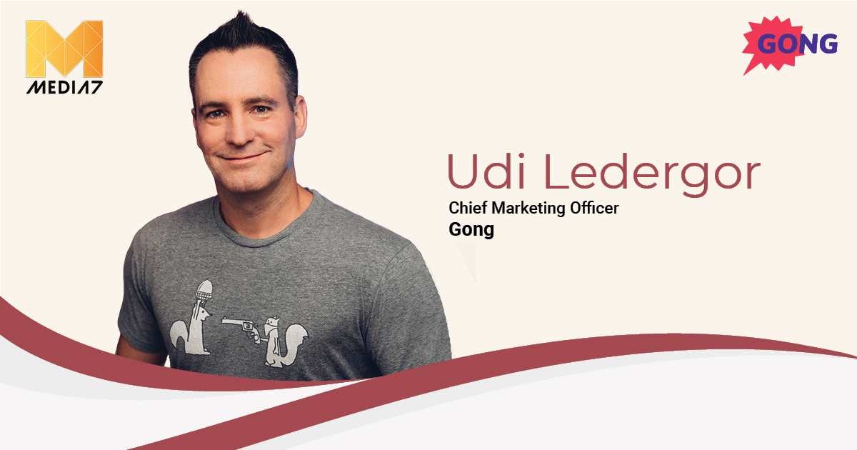 Q&A with Udi Ledergor, Chief Marketing Officer at Gong
