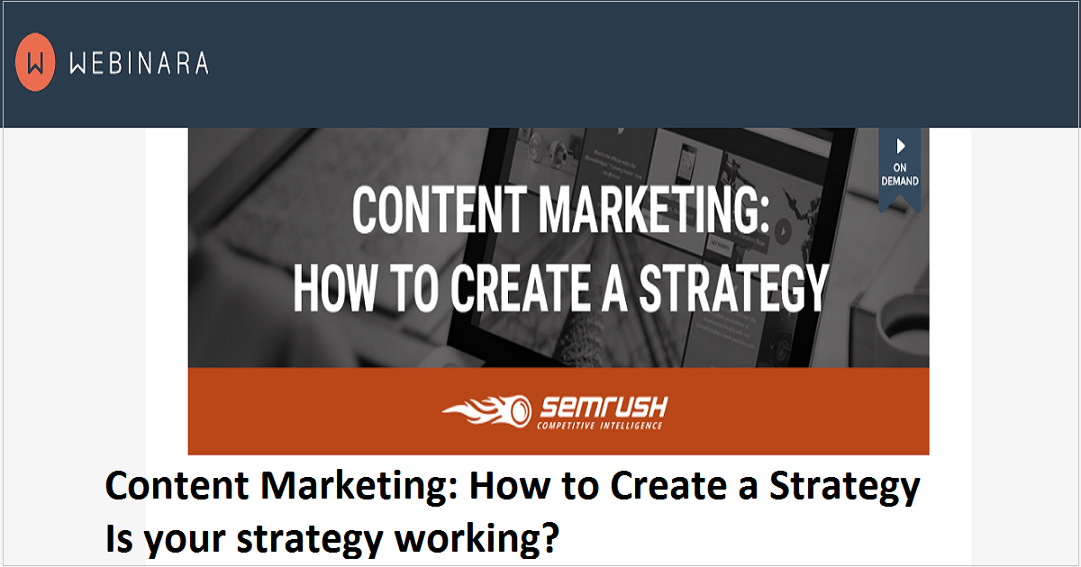 Content Marketing: How to Create a Strategy