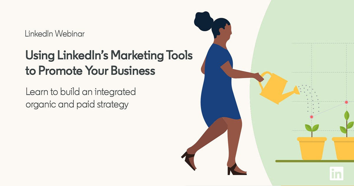 Using LinkedIn's Marketing Tools to Promote Your Business