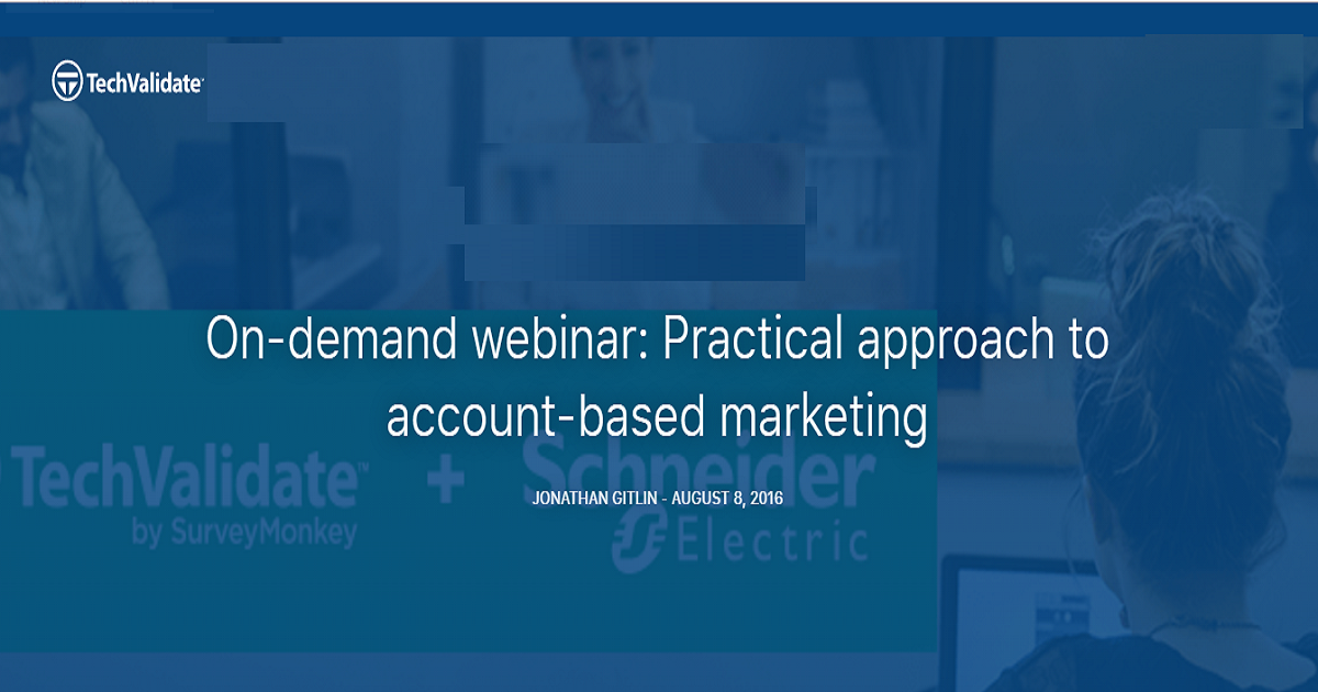 Practical approach to account-based marketing