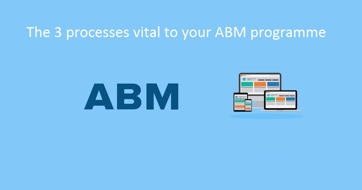 The 3 processes vital to your ABM programme