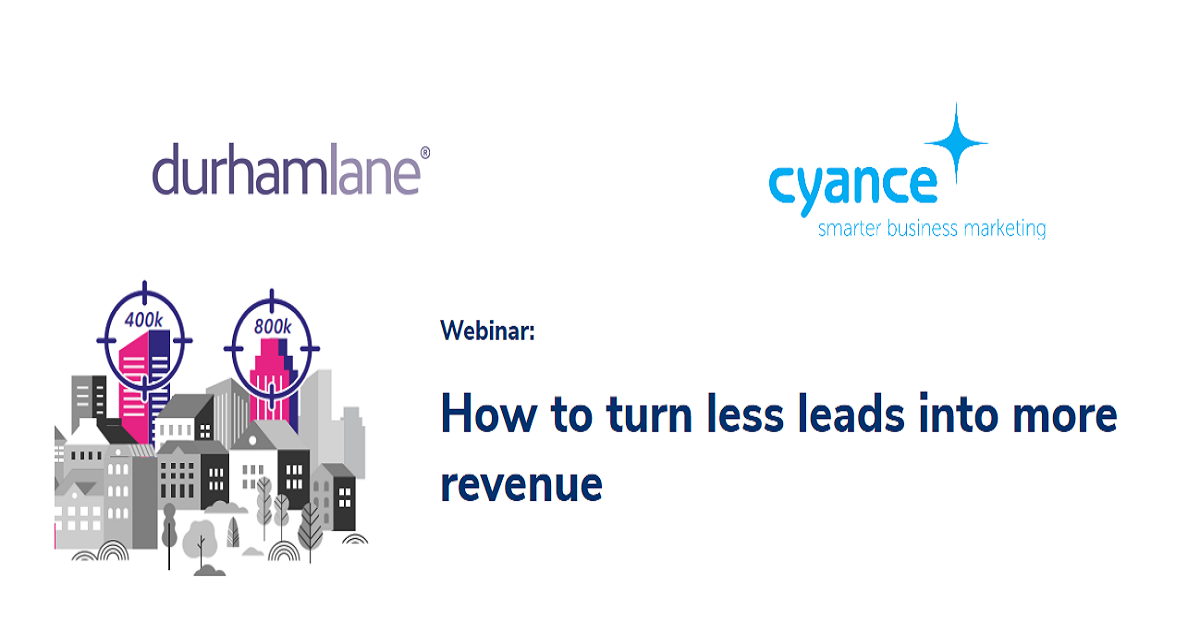 How to turn less leads into more revenue