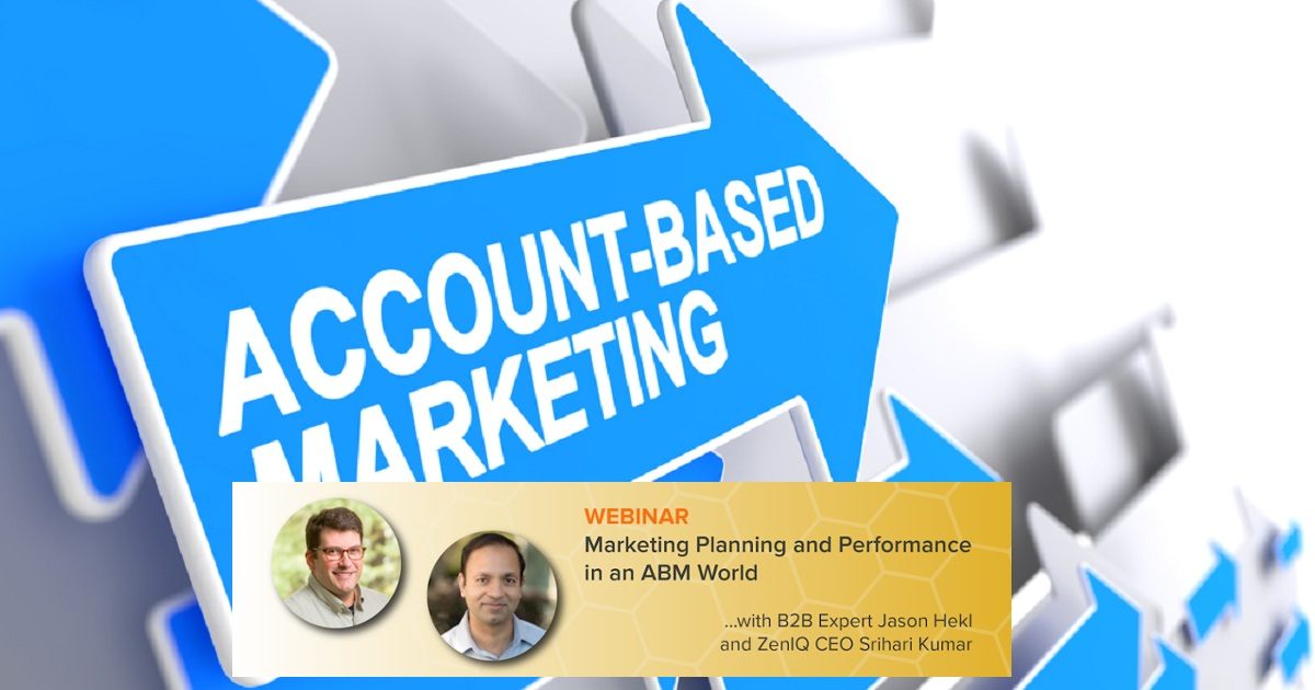 Marketing Planning and Performance in an ABM World