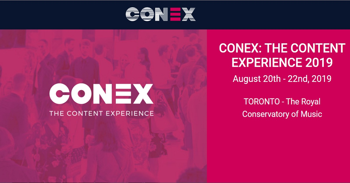 CONEX: THE CONTENT EXPERIENCE 2019