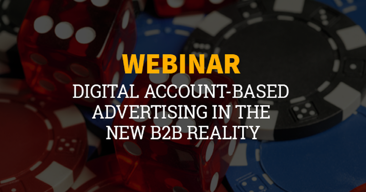 Digital account-based advertising in the new B2B reality
