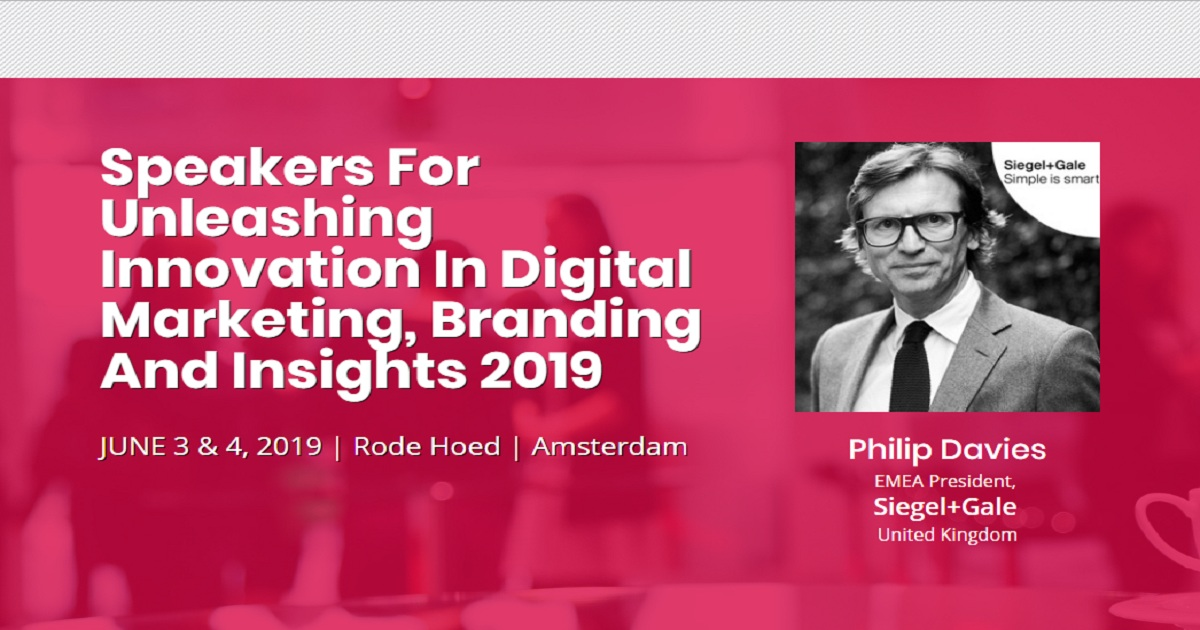 Unleashing Innovation in Digital Marketing, Branding And Insights 2019