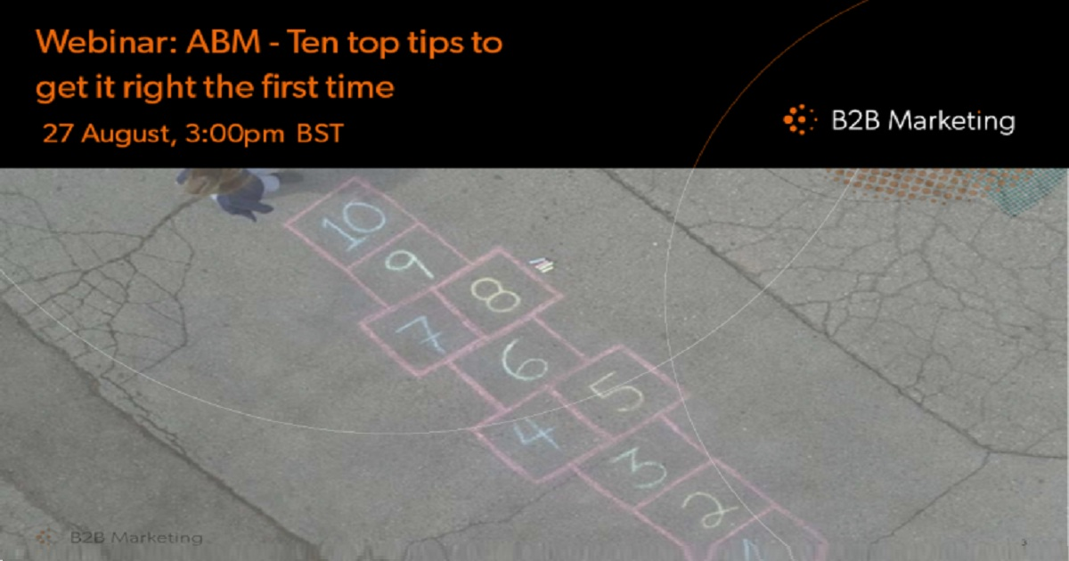 ABM - Ten top tips to get it right first time