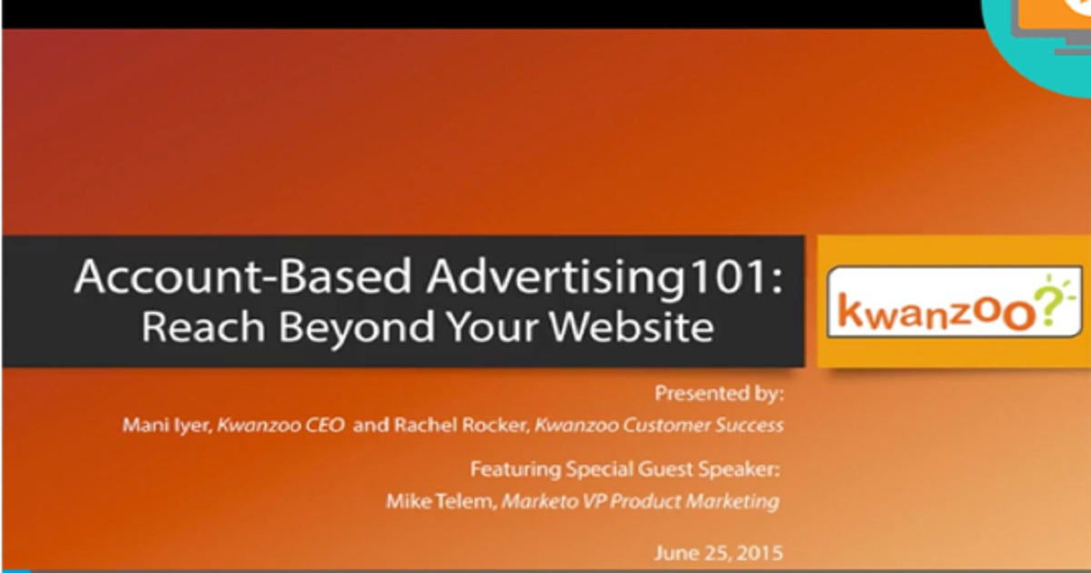 Account-Based (ABM) Advertising 101: Reach Beyond Your Website