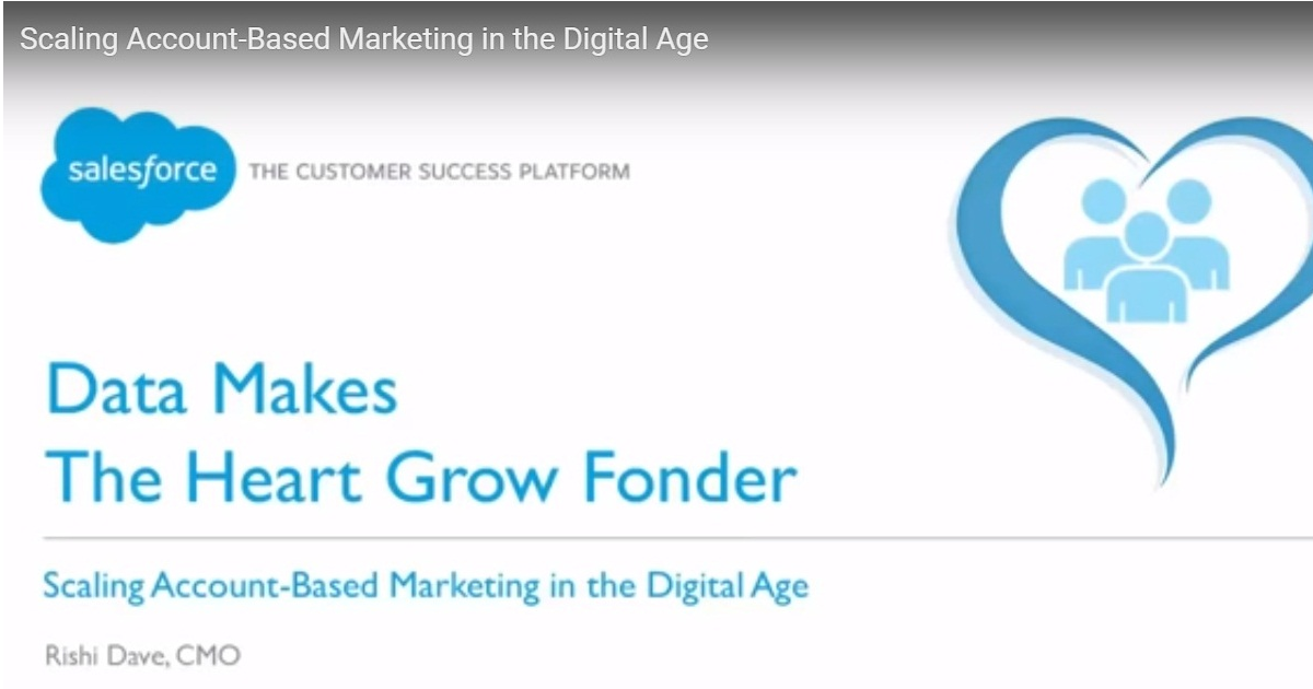 Scaling Account-Based Marketing in the Digital Age