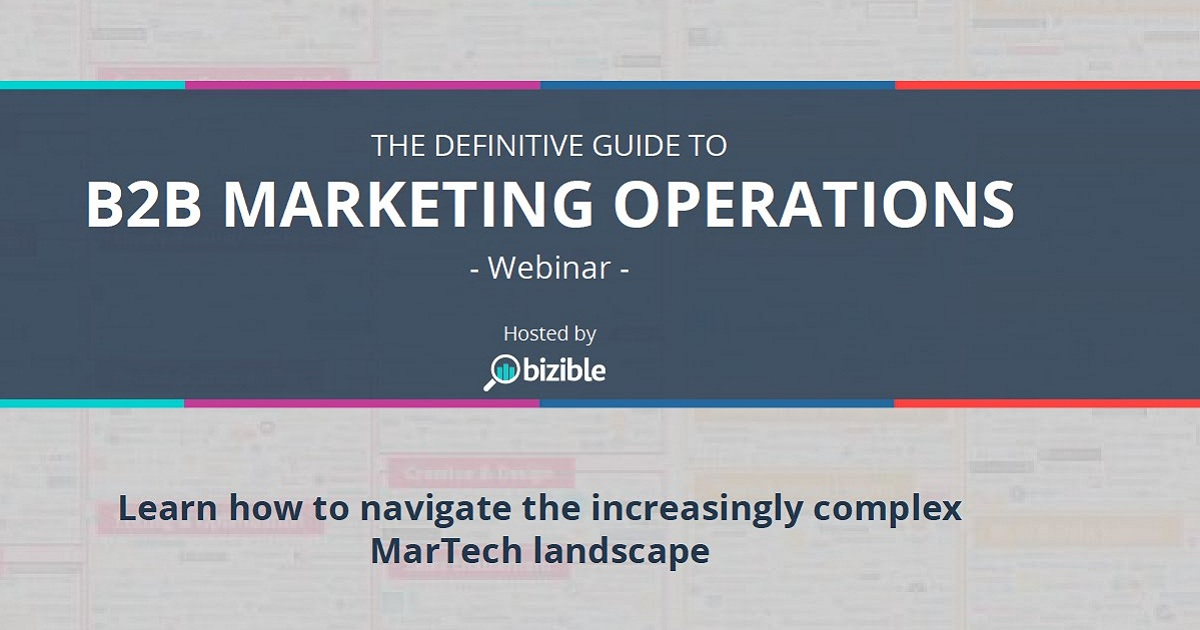 Definitive Guide to B2B Marketing Operations