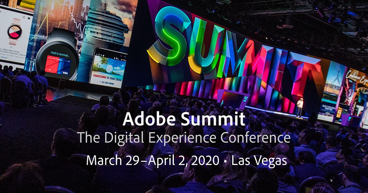 Adobe Summit 2020