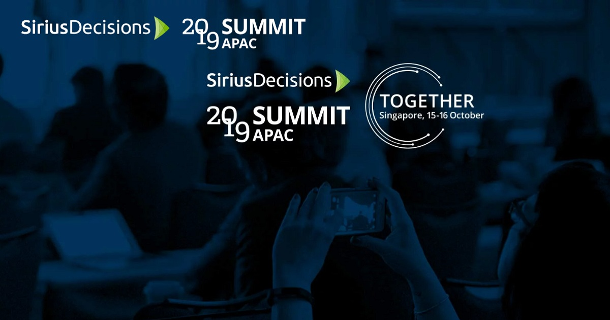 SiriusDecisions Summit APAC 2019