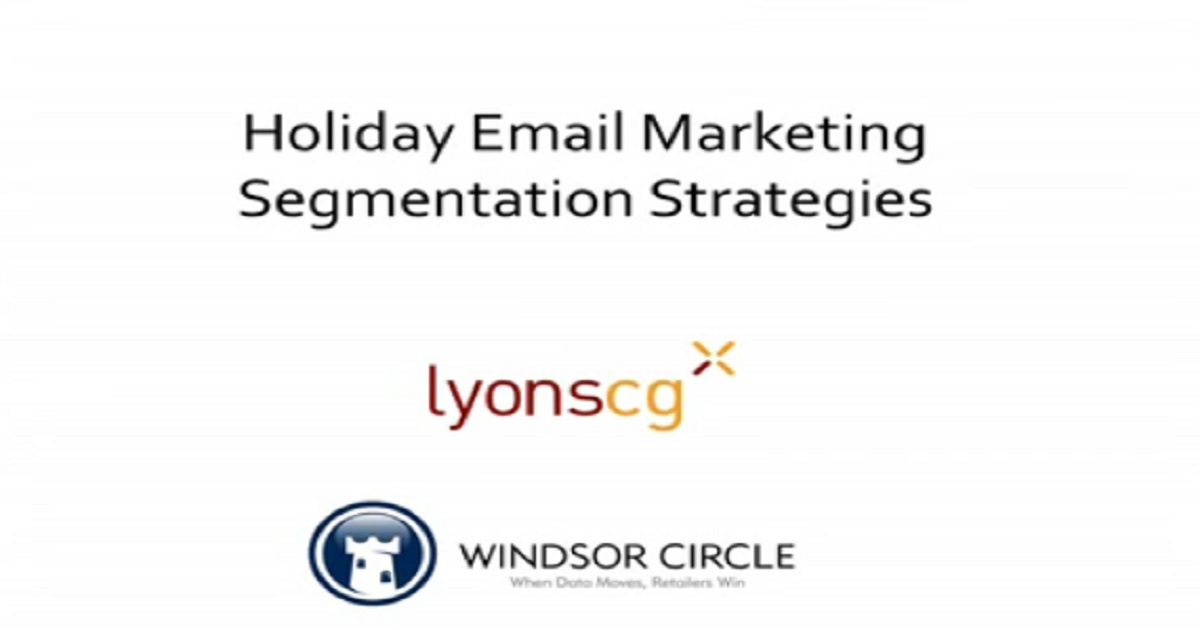 Holiday Email Marketing Segmentation Strategies