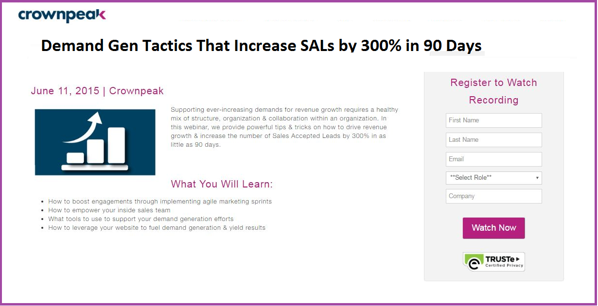 Demand Gen Tactics That Increase SALs by 300% in 90 Days