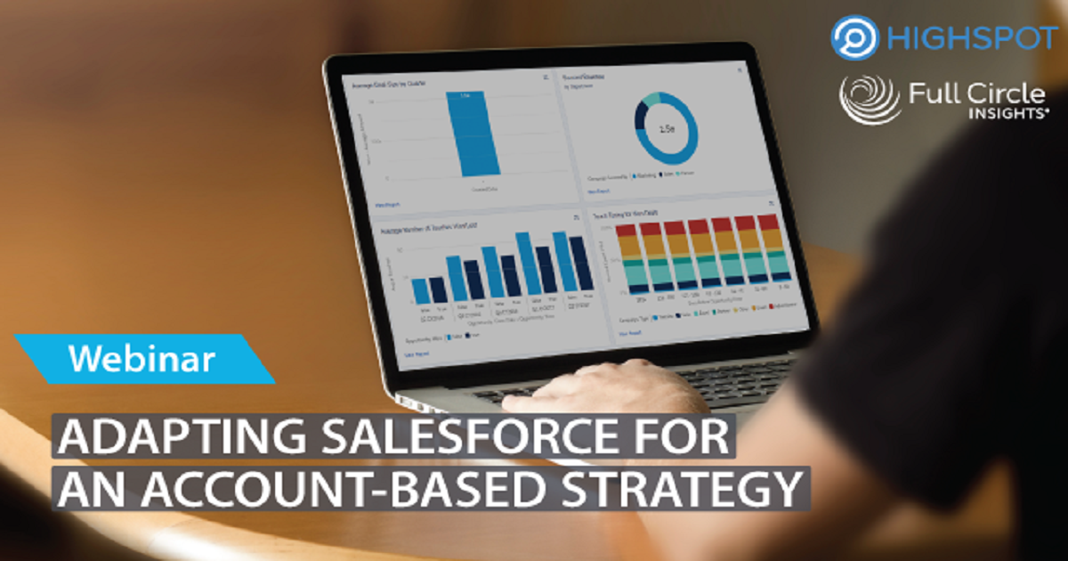 Adapting Salesforce for an Account-Based Strategy