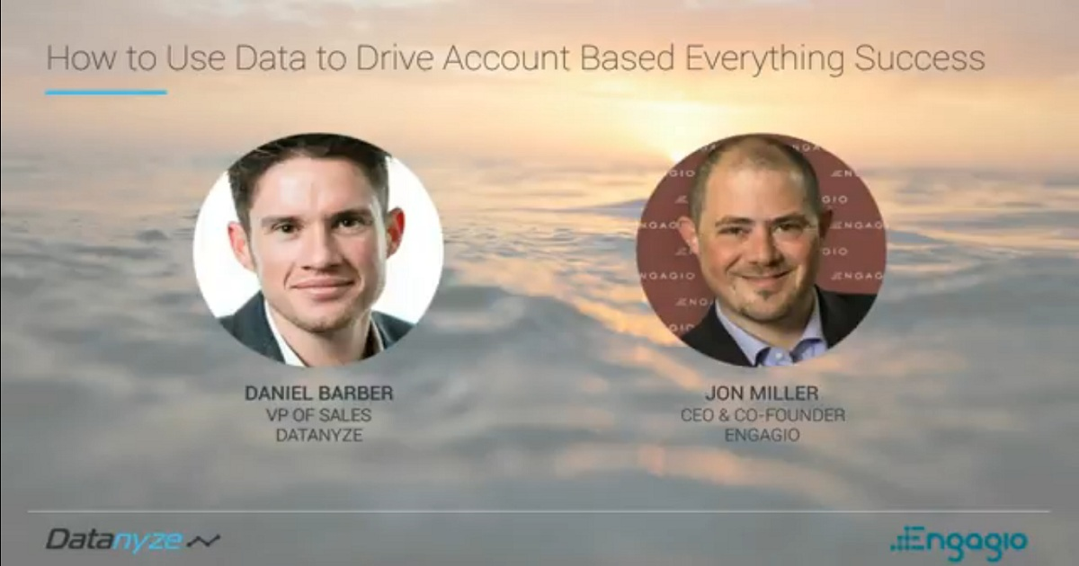 How to Use Data to Drive Account Based Everything Success