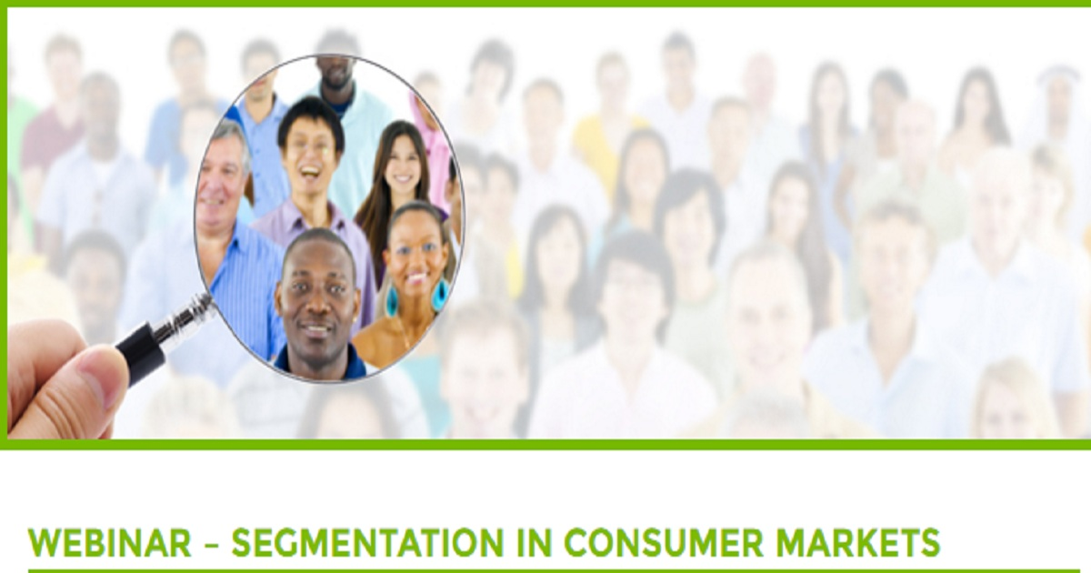 SEGMENTATION IN CONSUMER MARKETS