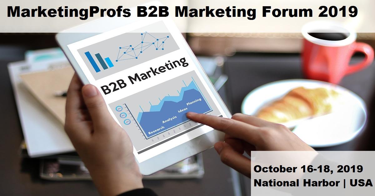 MarketingProfs B2B Marketing Forum 2019