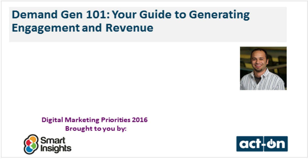 Demand Gen 101: Your Guide to Generating Engagement and Revenue