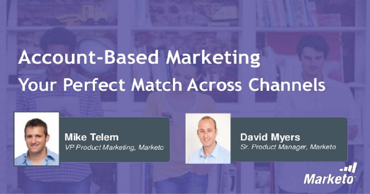 Account-Based Marketing – Your Perfect Match Across Channels