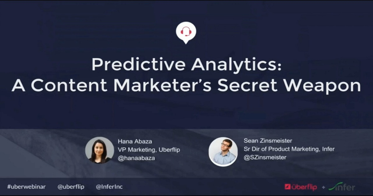Predictive Analytics: A Content Marketer