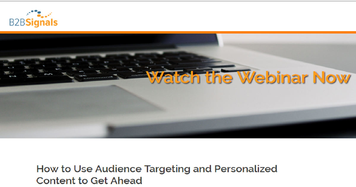 How to Use Audience Targeting and Personalized Content to Get Ahead