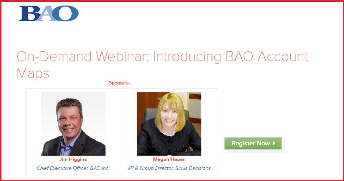 Webinar: Introducing BAO Account Maps