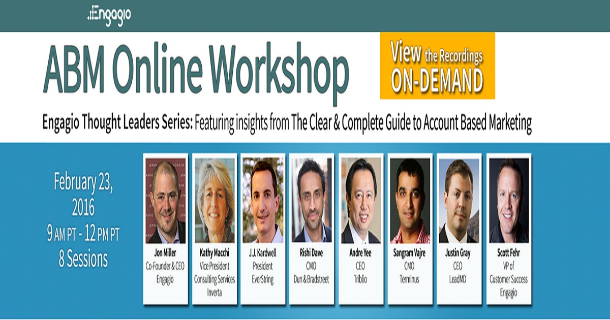 ABM online workshop
