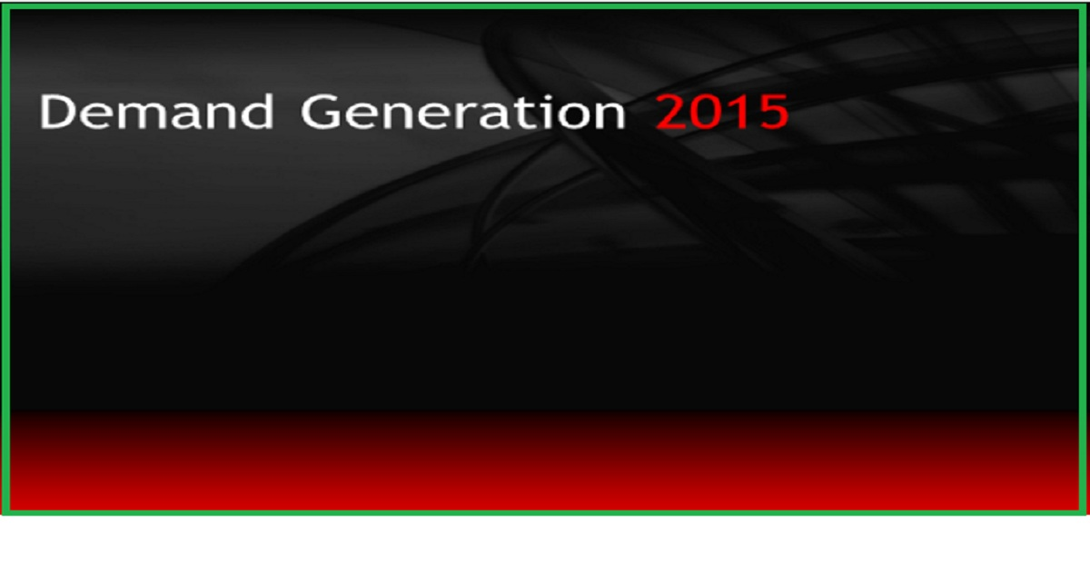 Demand Generation 2015