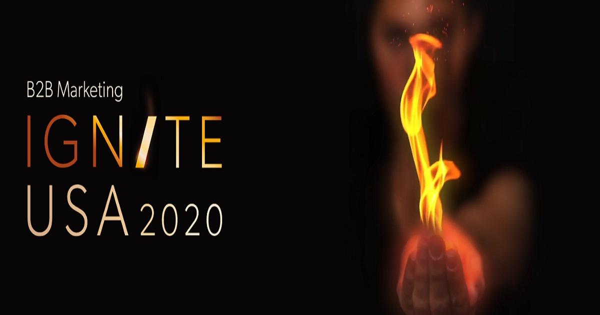 B2B Marketing Ignite USA 2020