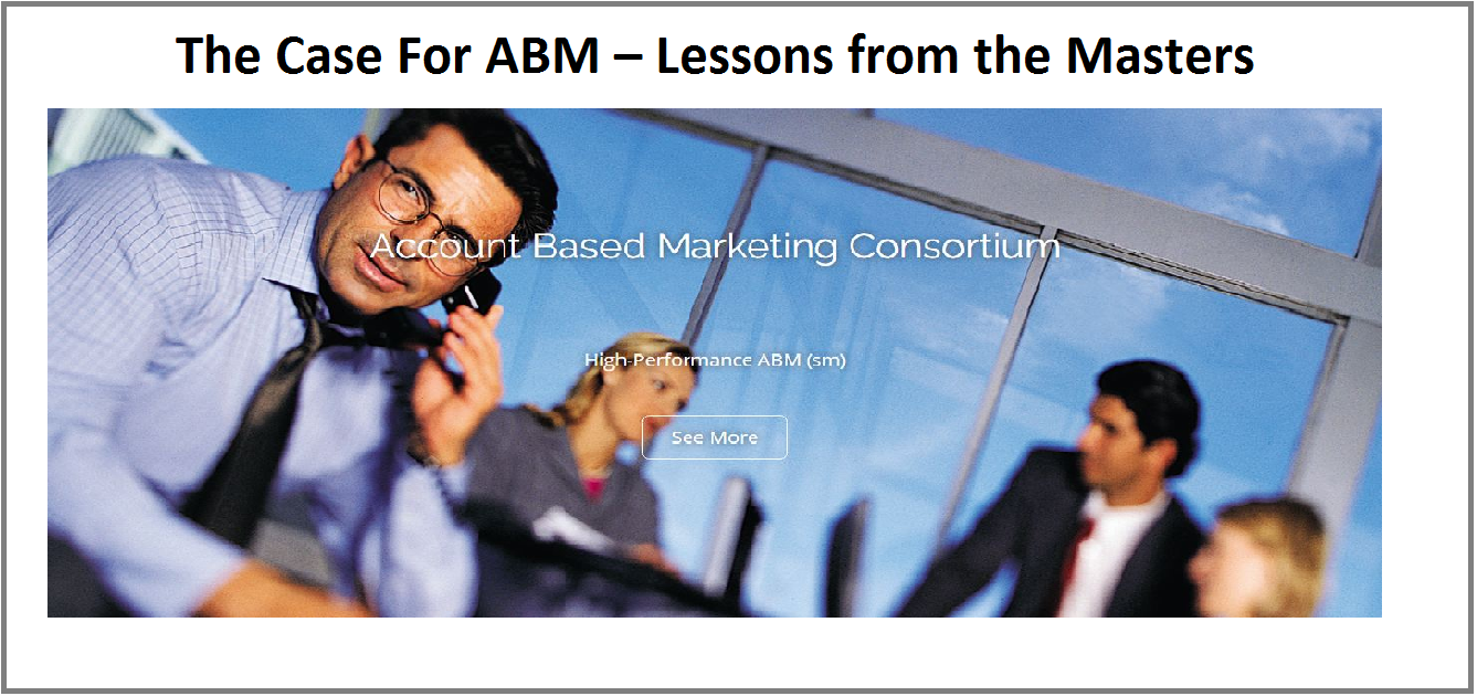 The Case For ABM – Lessons from the Masters