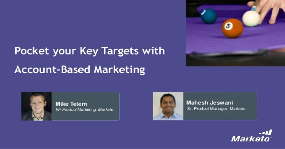 Pocket Your Key Targets with Account-Based Marketing