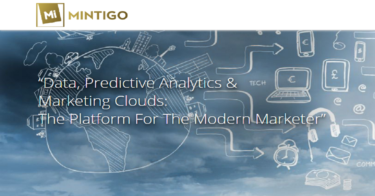 Data, Predictive Analytics & Marketing Clouds: The Platform For The Modern Marketer