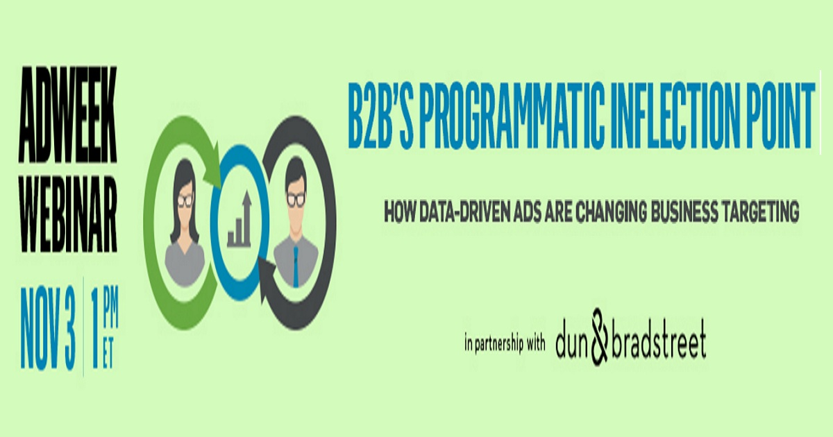 B2B's Programmatic Inflection Point: How Data-Driven Ads Are Changing Business Targeting