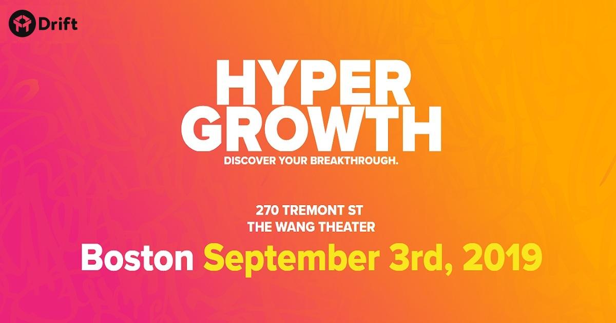 HYPERGROWTH 2019 Boston
