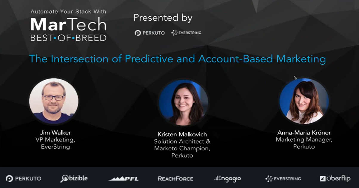 The Intersection of Predictive and Account Based Marketing