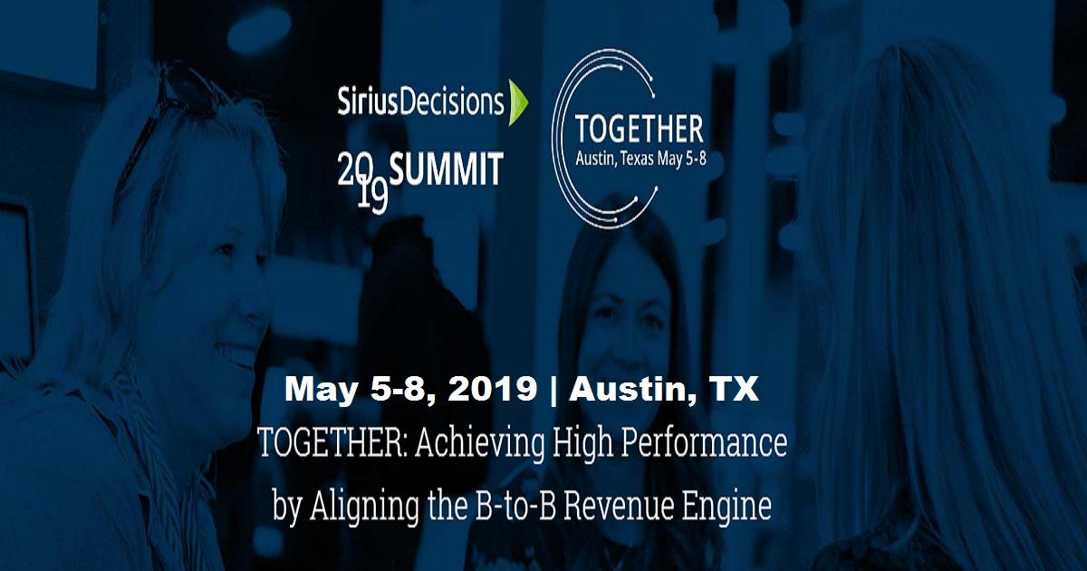 Sirius Decisions 2019 Summit