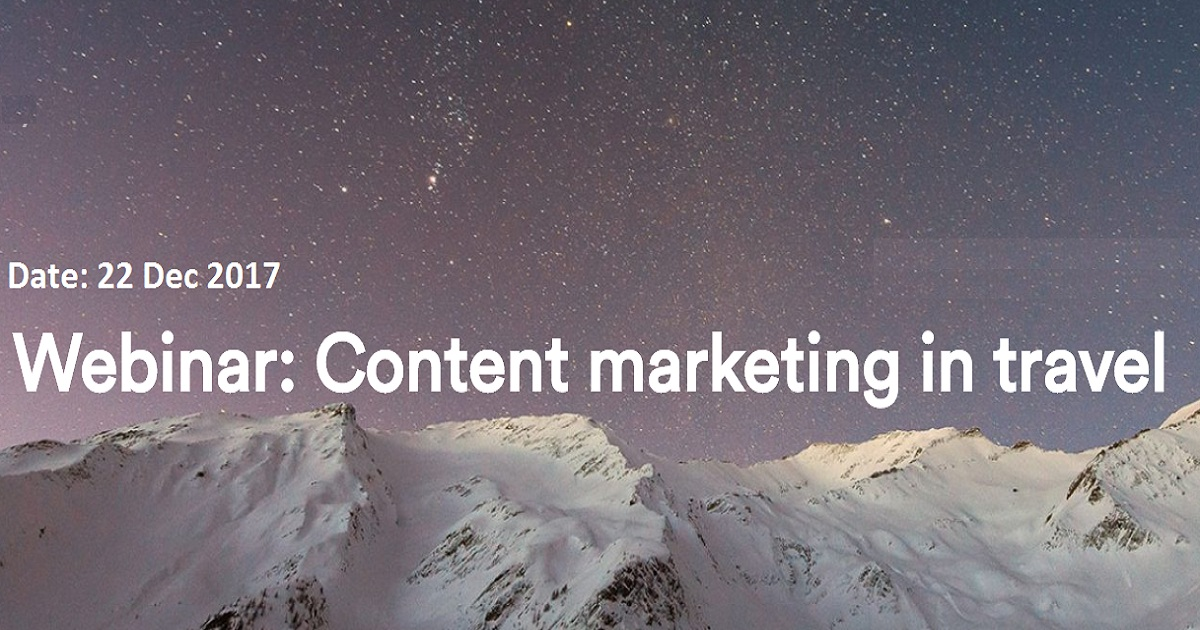 Content marketing in travel