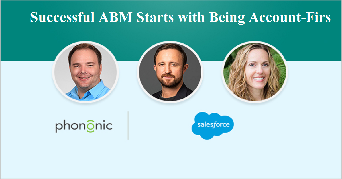 Successful ABM Starts with Being Account-First