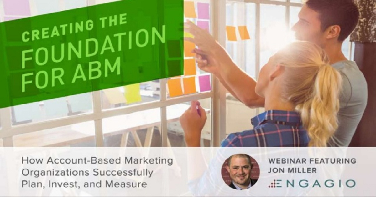 Creating the Foundation for ABM