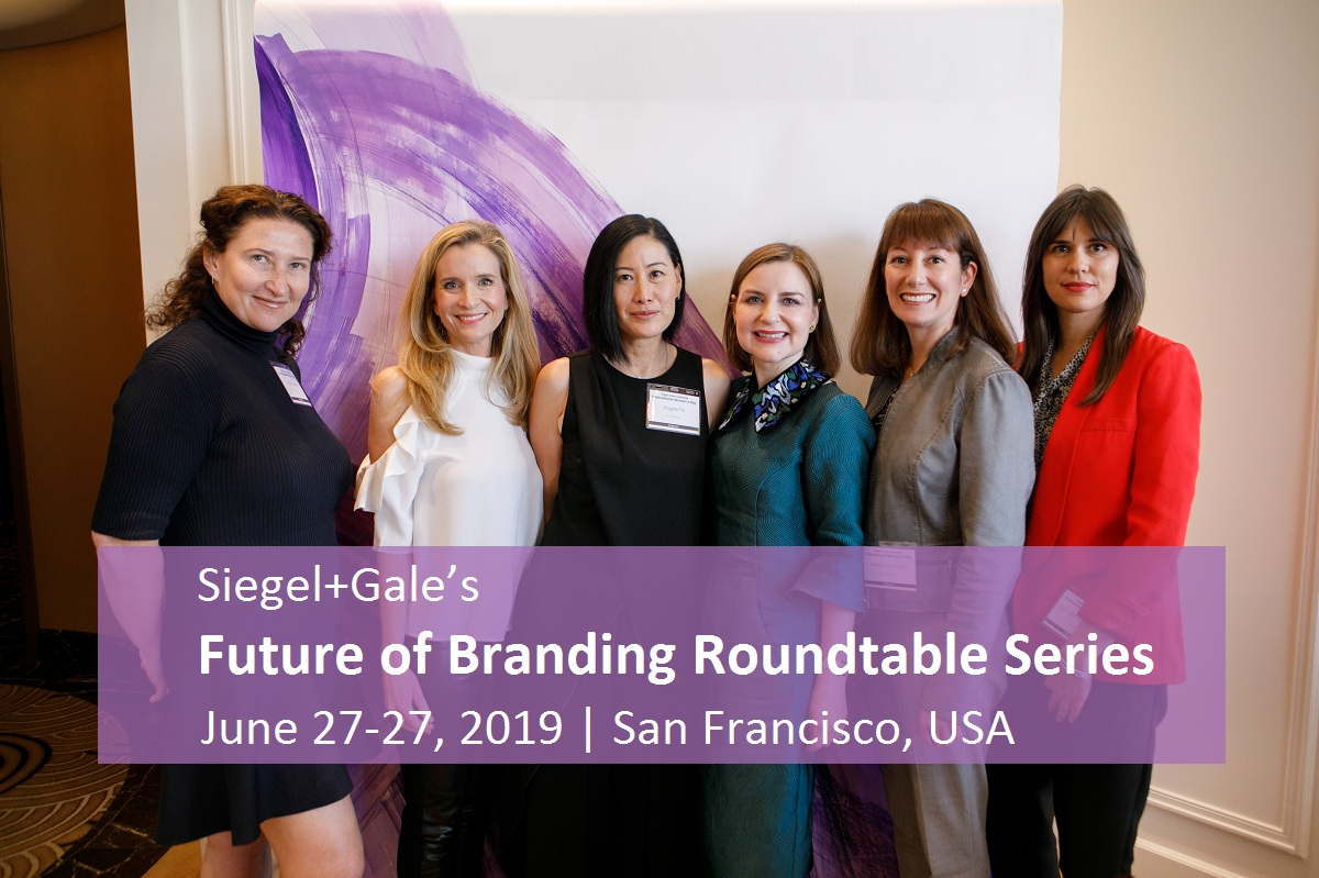 Siegel+Gale's Future of Branding Roundtable Series