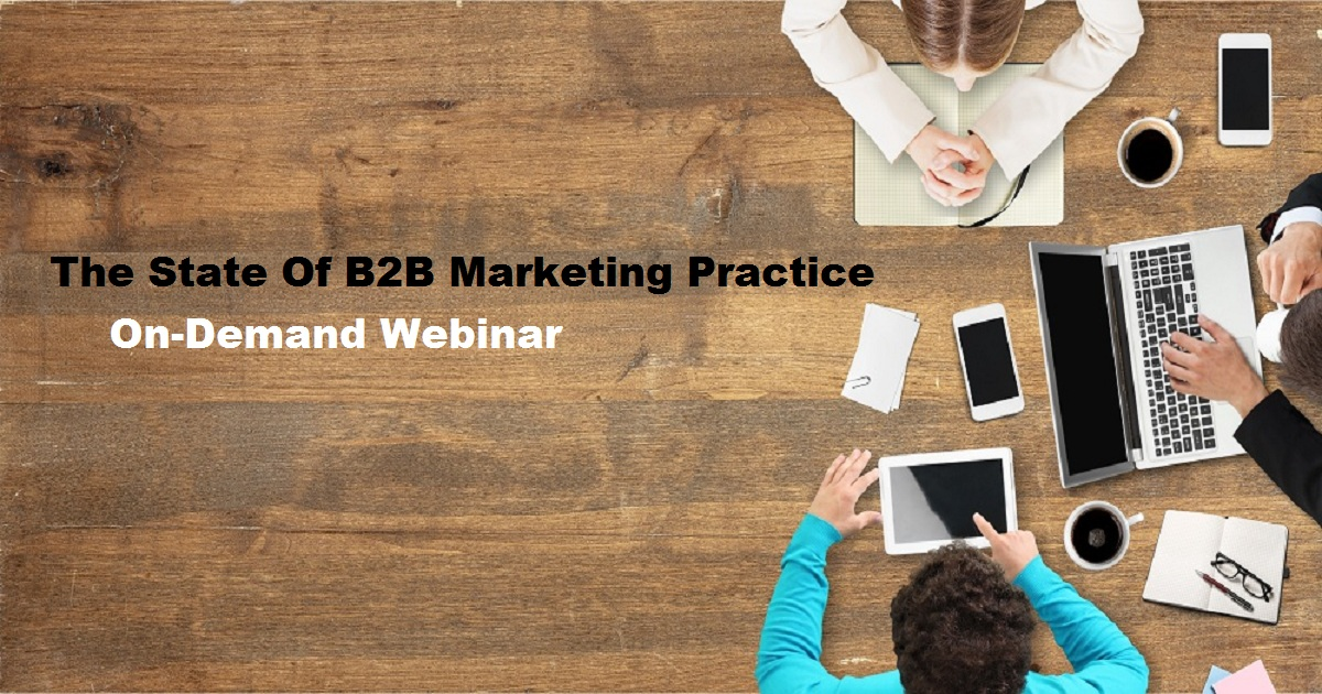 The State Of B2B Marketing Practice