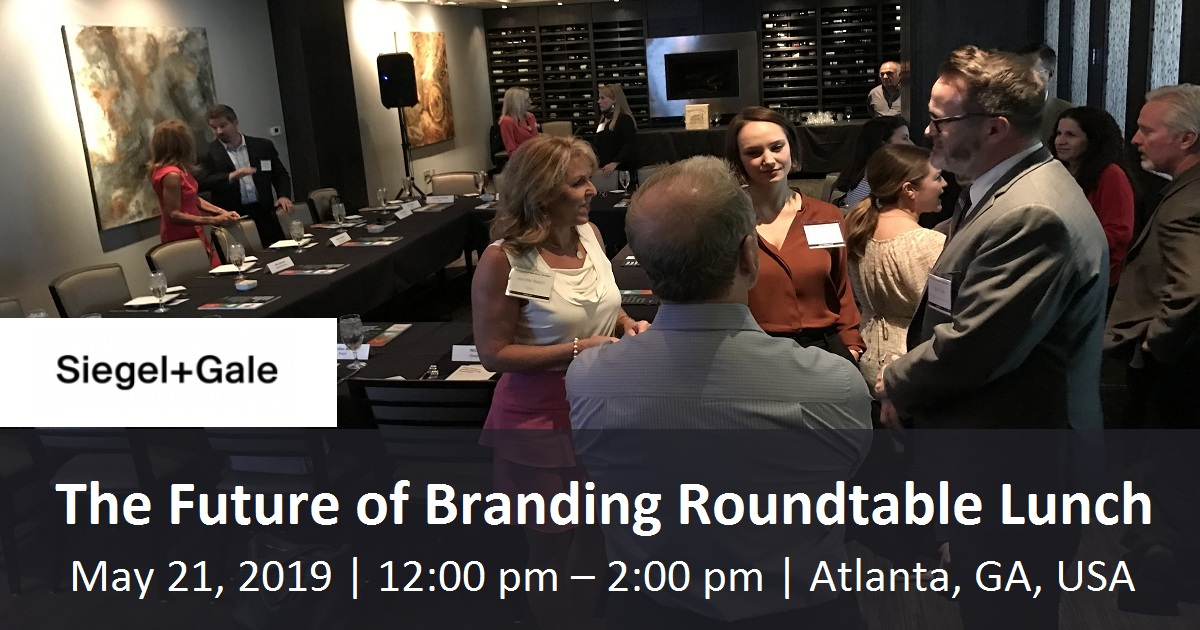 The Future of Branding Roundtable Lunch