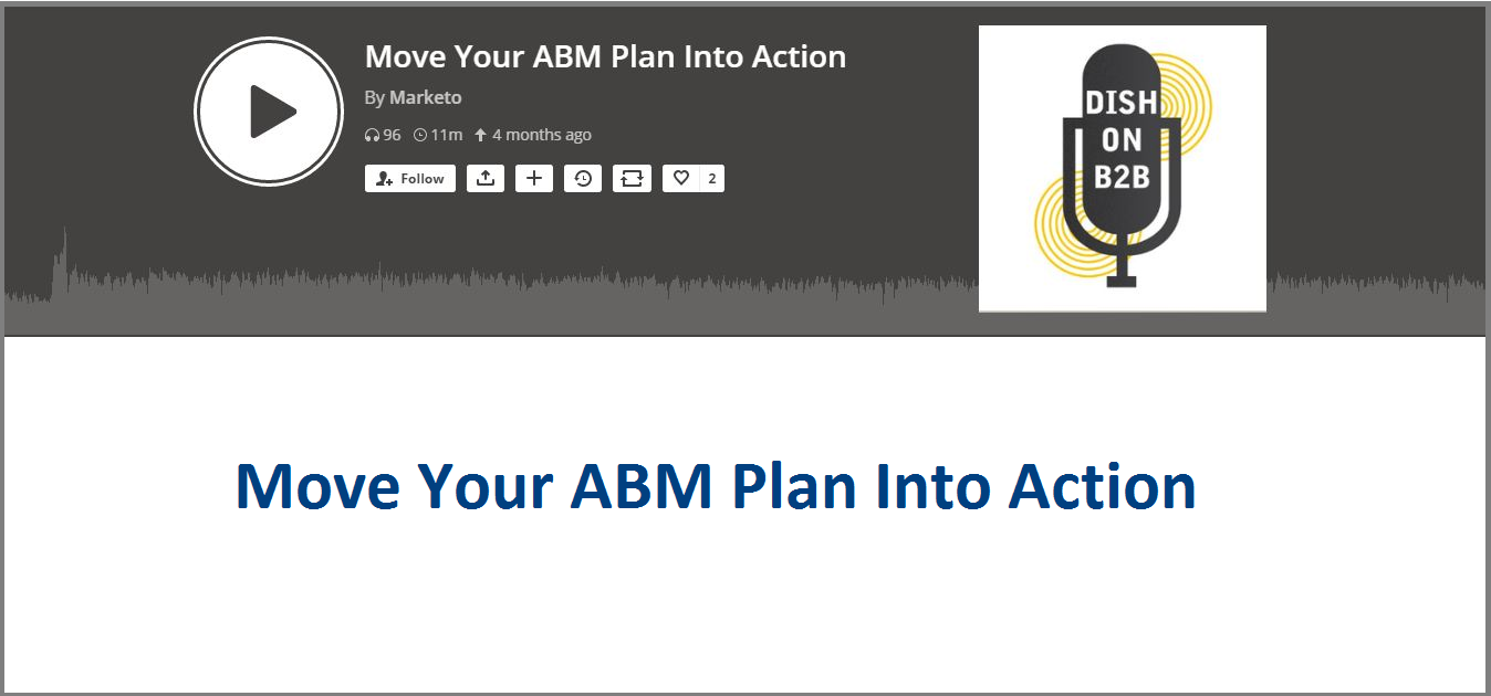 Move Your ABM Plan Into Action