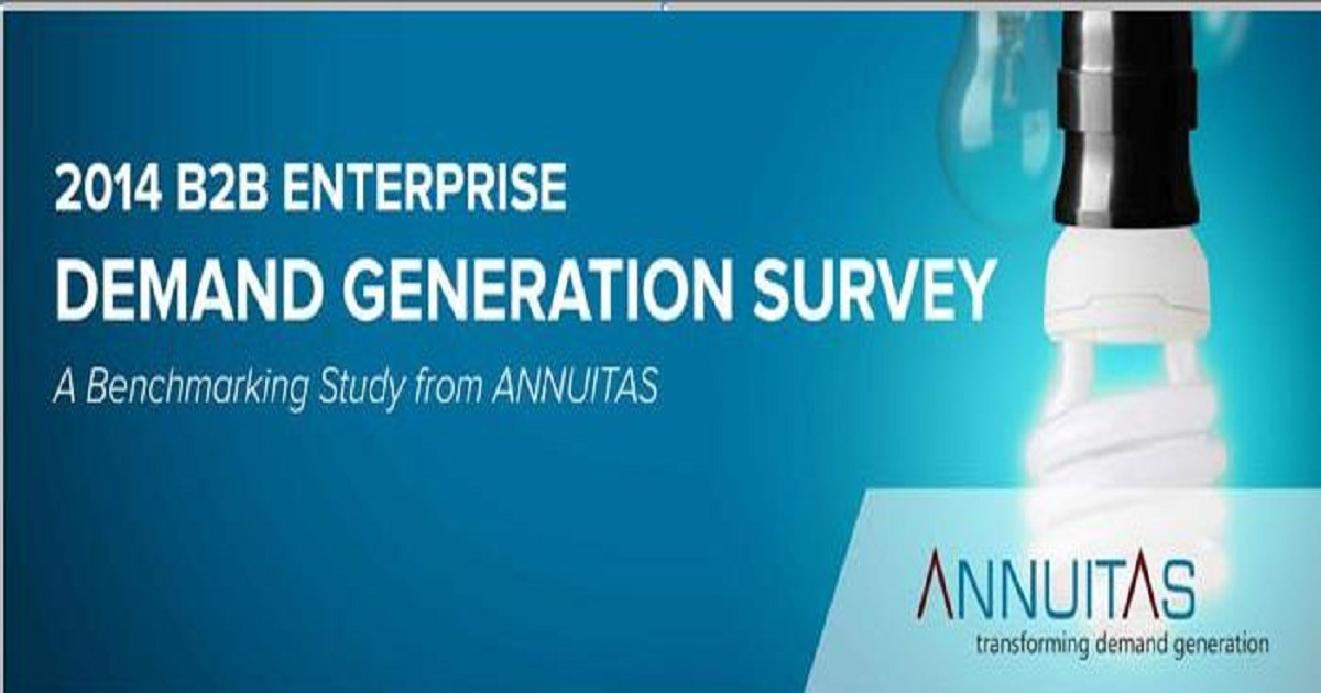 B2B Enterprise - Demand Generation Study