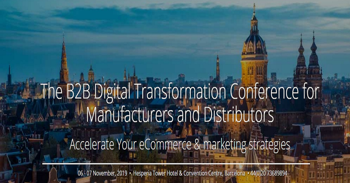 The B2B Digital Transformation Conference for Manufacturers and Distributors