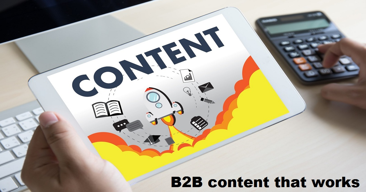 B2B content that works