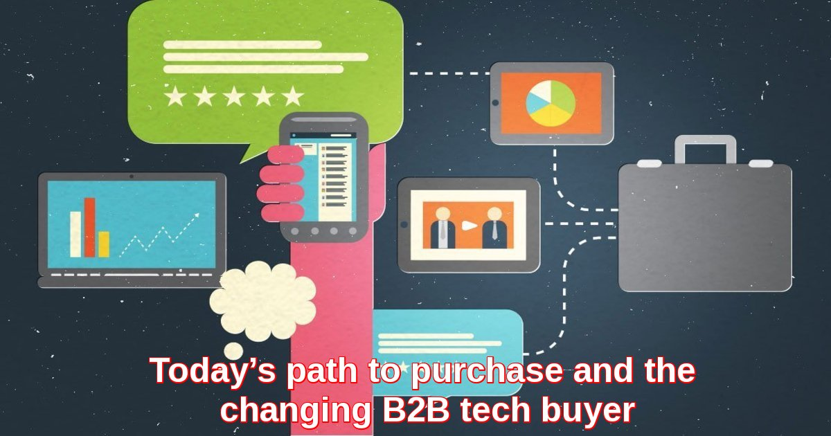Today's path to purchase and the changing B2B tech buyer