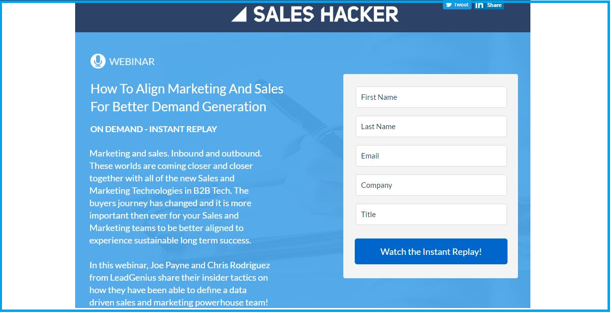How To Align Marketing And Sales For Better Demand Generation
