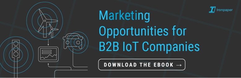 Internet of things in the supercool game of B2B marketing